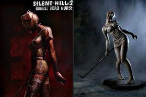 Silent-Hill-2-Bubble-Head-Nurse-Figura-de-PVC