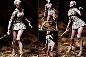 Silent-Hill-Bubble-Head-Nurse-Variant-Figura-de-accion