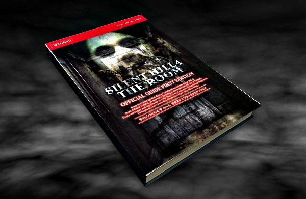 Guias-de-Silent-Hill-4-The-Room-Official-Guide-Primera-edicion-Libros-oficiales-de-Konami