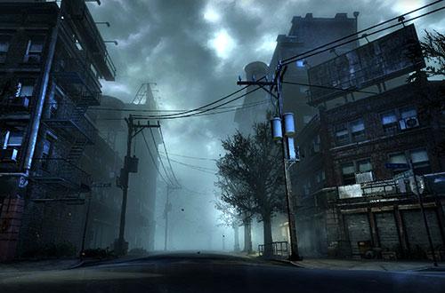 mundo de niebla pueblo fantasma de silent hill