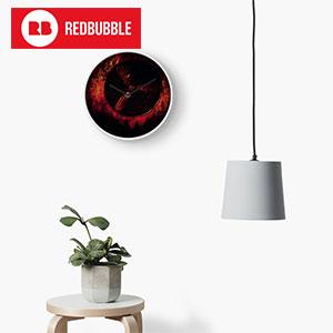 silent-hill-redbubble-reloj