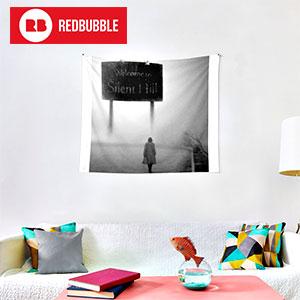 silent-hill-redbubble-tela-decorativa
